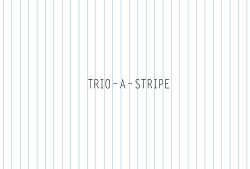 TRIO -A- STRIPE<br/>@A-things